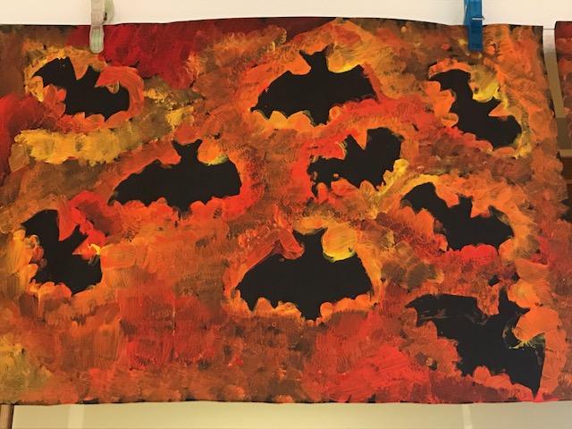 Herfst/Halloween knutsel