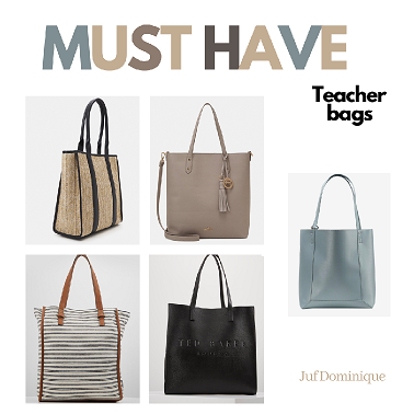 Musthave teacher bags!